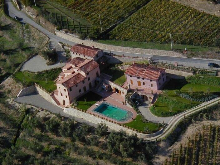Borghino - Arial View
