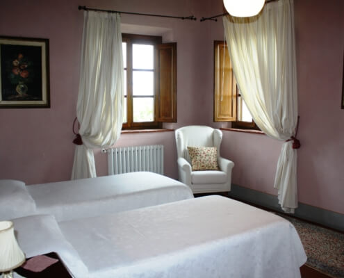 Il Gelso Rosa - Twin or Double room with private bathroom