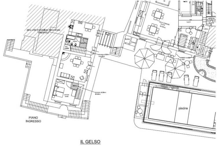 Floor Plan Il Gelso