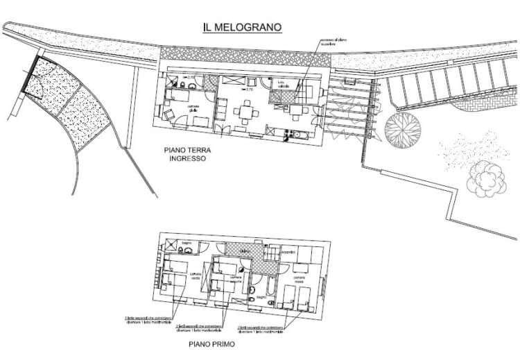 Floor Plan Il Melograno