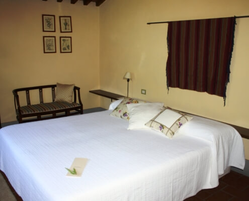 I Nespoli Gialla - Twin or Double room with private bathroom